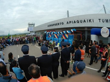 Boliviana de Aviación inaugura vuelos a Monteagudo