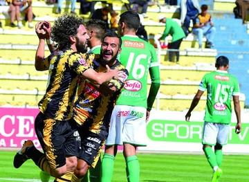 Goleada de The Strongest  da vida al Torneo Clausura