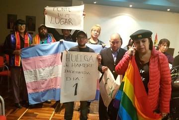 Comunidad Transgénero levanta huelga de hambre en espera de mediación del legislativo