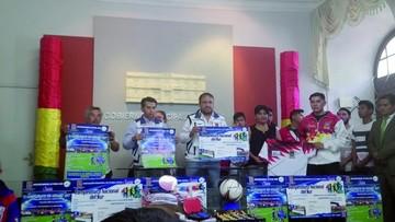 Asociación local de fútbol prepara dos campeonatos