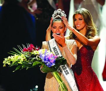 Sudafricana se queda con el título de Miss Universo