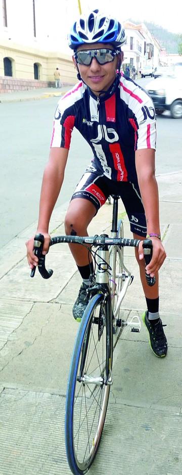 Kevin Bolaños quiere profesionalizarse en el ciclismo