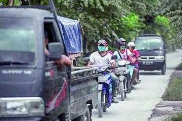 Bali: Masiva evacuación ante erupción del Agung