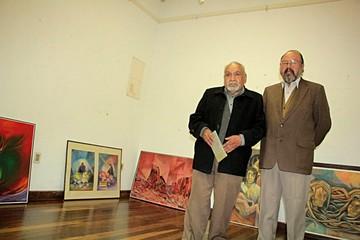 Grupo de artistas plásticos expone en Casa Alzérreca