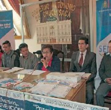 Alistan actividades para el viernes por día contra el Sida
