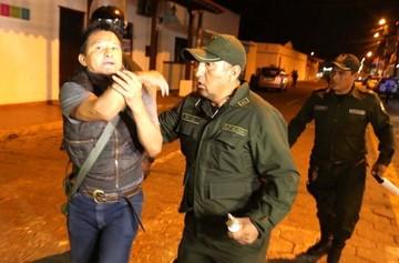 Evo ordena mantener el orden tras las protestas y la Policía se acuartela