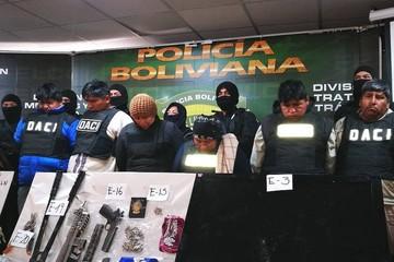 Desarticulan banda de delincuentes que con peruanos y brasileños planeaba asalto
