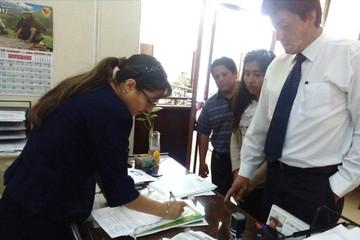 """Comité presenta solitud de """"revocatoria de mandato"""" para autoridades municipales de Sucre"""