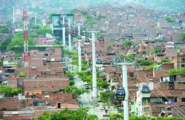 """Latinoamérica: El """"boom""""  de los teleféricos urbanos"""