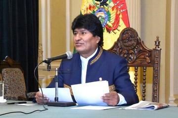 Morales resalta que magistrados electos tienen más legitimidad que ex Presidentes