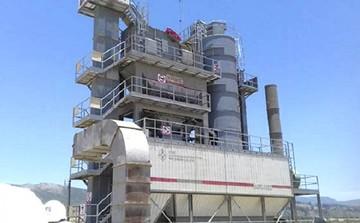 Instalan la planta de asfalto más moderna del país en Padilla