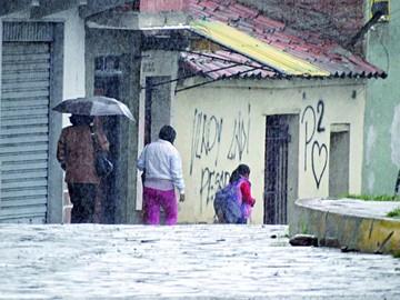 Cae lluvia en 27 de los 29 municipios de la región