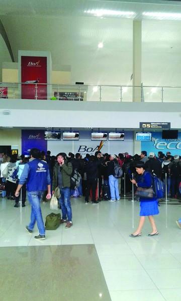 Aeropuerto Alcantarí deja  de operar media jornada