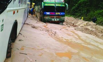 Restringen la circulación en ruta Muyupampa-Ipati
