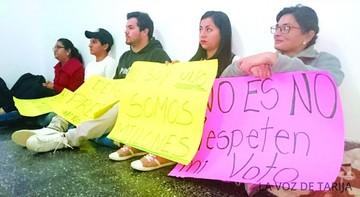 Huelga rechaza la sentencia que Evo defiende