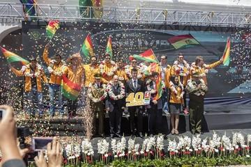 Levantan en Sucre la bandera a cuadros del Dakar 2018