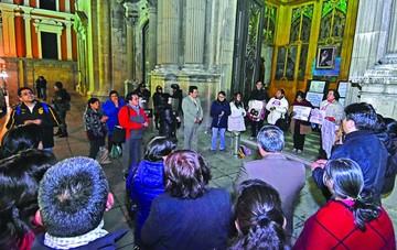 Hay huelga y vigilias contra  artículo sobre el aborto legal