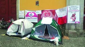 Aborto: Huelguistas piden audiencia a Evo