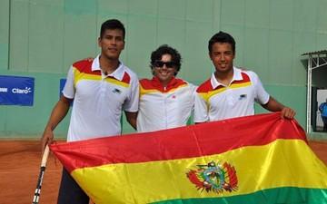 Bolivia enfrentará a Perú en la Copa Davis de tenis