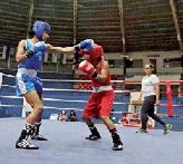 Boxeadores alzan los puños con miras a los Odesur