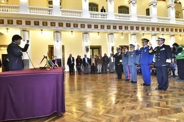 Yamil Borda Sosa es el nuevo Comandante en Jefe de las FFAA