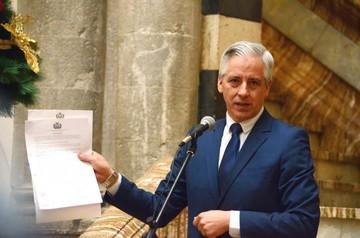 Reelección: García Linera clausura debate pero hay protesta callejera