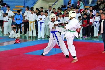 Karate cierra calendario