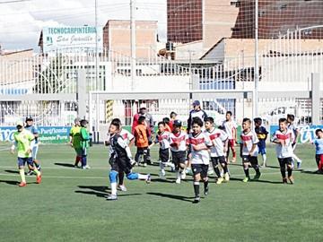 Concretec va a la Copa Tarija La Linda de Fútbol