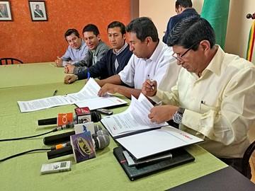 Fancesa y la SIB Chuquisaca sellan un pacto por la cementera regional