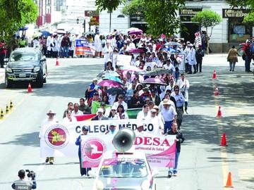Médicos en Sucre dicen que normas  no cambiarán nada