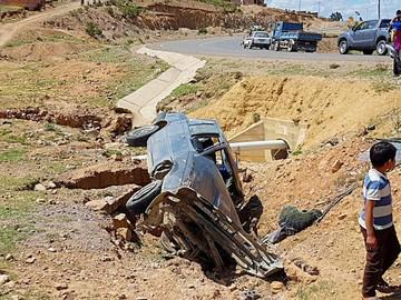 Lajastambo: Accidente deja cuatro niños heridos