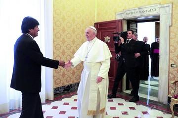 Tarud pide informe de cita de Evo en Vaticano
