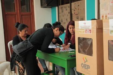 Judiciales: En Beni repiten votación en cuatro mesas