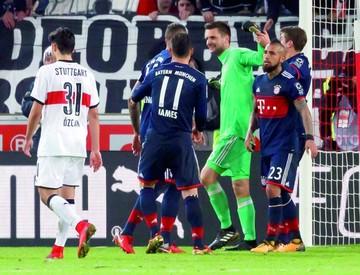 El Bayern gana  con gol de Müller  y un penal atajado