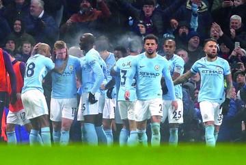 El City arrolla al Tottenham