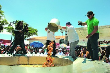 La picana más grande del país reunió a unas 2.000 personas