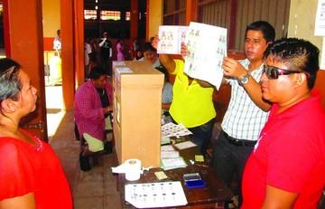 Votación en Beni transcurre sin problemas