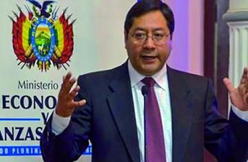 """Ex ministro Luis Arce: """"No queremos más economía de mercado"""""""
