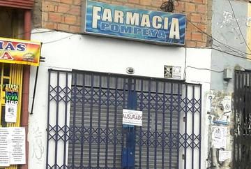 Inician clausuras de farmacias y ministra Campero hace control