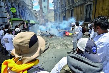 Huelga va camino a suspenderse  tras violencia y mediación eclesial
