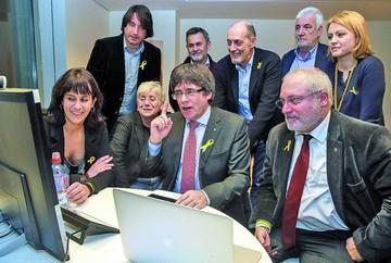 El secesionismo mantiene fuerza en Cataluña