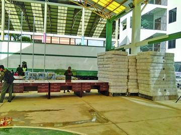 Invierten Bs 1,1 millones en equipamiento de Patacón