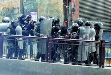 Liberan a los arrestados en la marcha del viernes