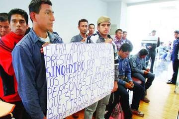 Trabajadores vuelven a poner en tela de juicio trato de Sinohydro
