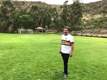 Boca Juniors llega a Sucre con una escuela de fútbol que invita a soñar