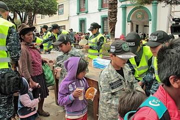 El Gacip en Sucre cierra gestión con 86 voluntarios