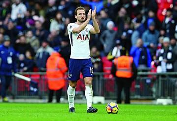 Kane, goleador de 2017