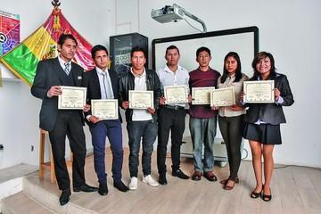 Titulación de la Escuela Taller Sucre