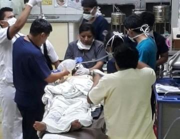 Una mujer en coma tras gasificación en Puerto Paila