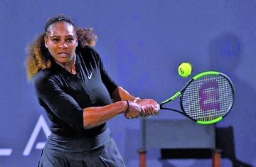 Serena retorna con derrota